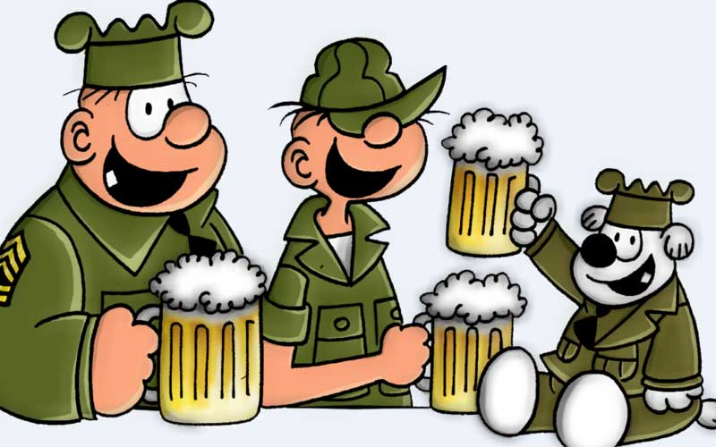 Quadrindex: Recruta Zero (Beetle Bailey)